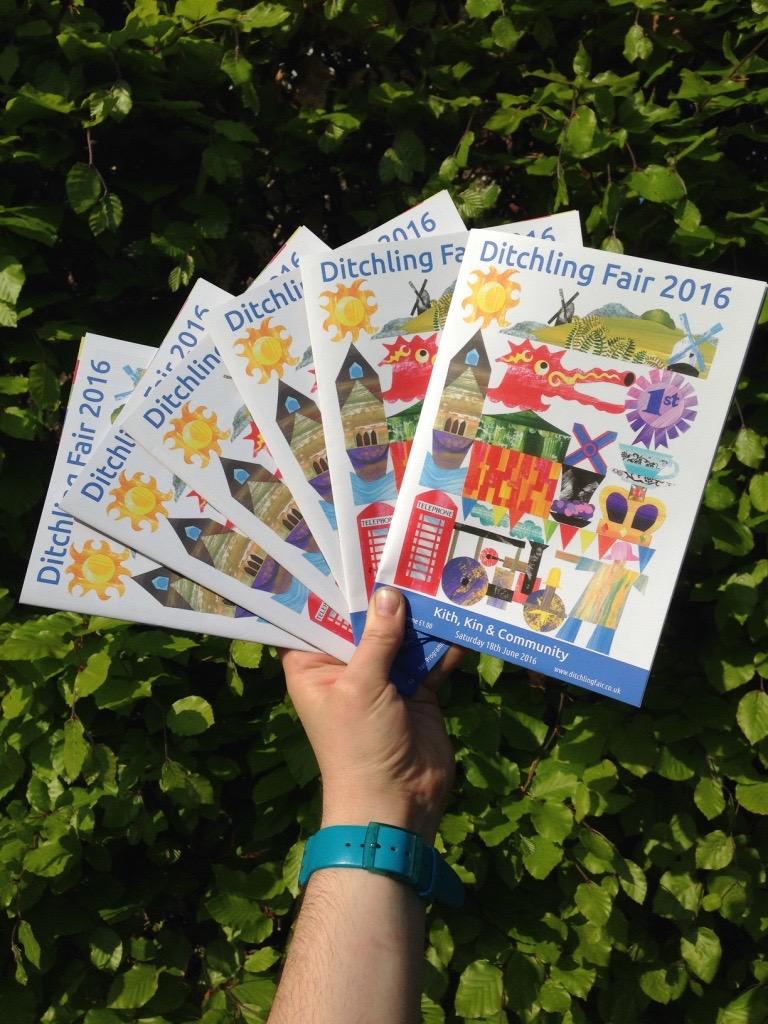 Ditchling Fair Programme 2016