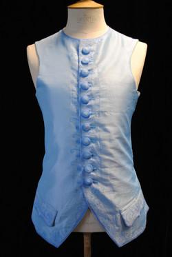 Blue Waistcoat