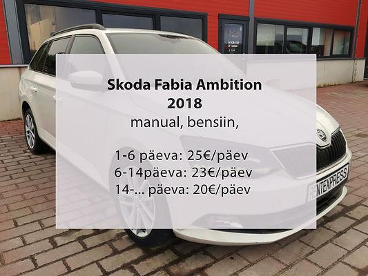 Skoda Fabia valge hindadega.jpg