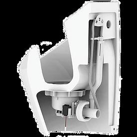 hybride keramisch urinoir