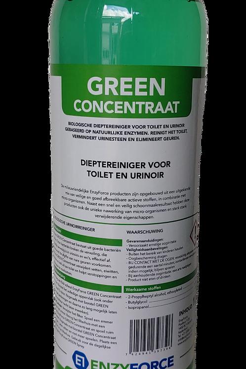 GREEN Concentraat, reinigingsmiddel op basis van bacteriën