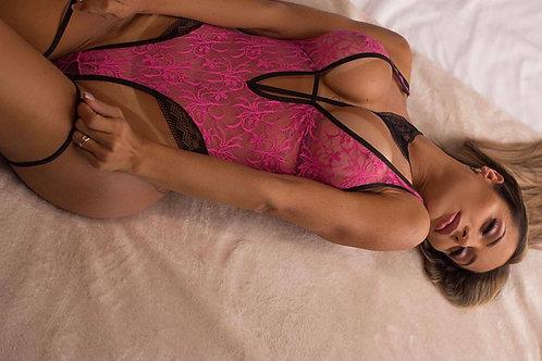Body Penélope - Pink - 2363