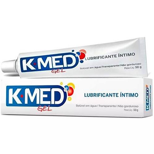 Lubrificante íntimo K-Med gel com 50 gramas