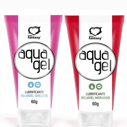 Lubrificante Beijável Aqua Gel