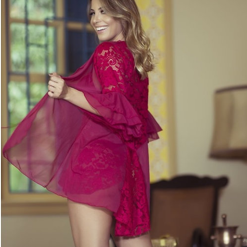 Robe Fashion em Tule e Renda