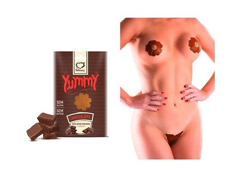 Tapa Sexo Comestivel Chocolate