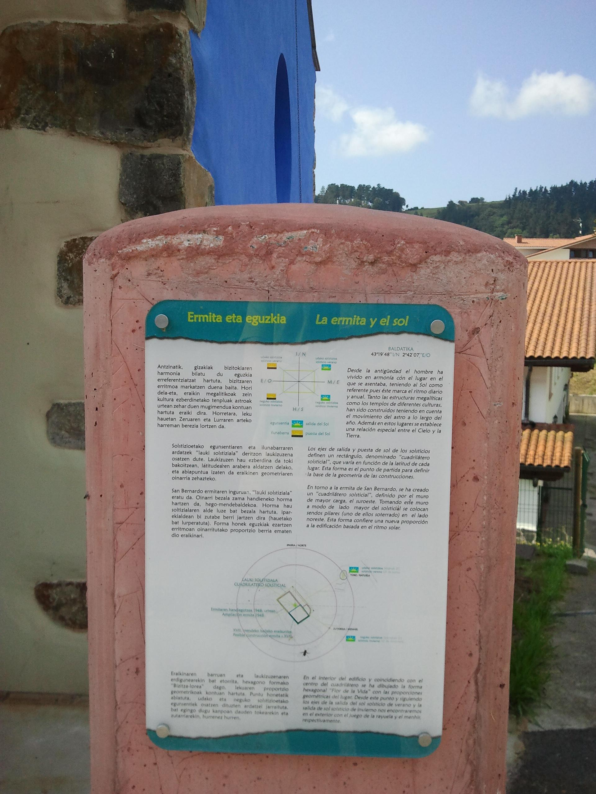 Rehabilitación de ermita en Forua