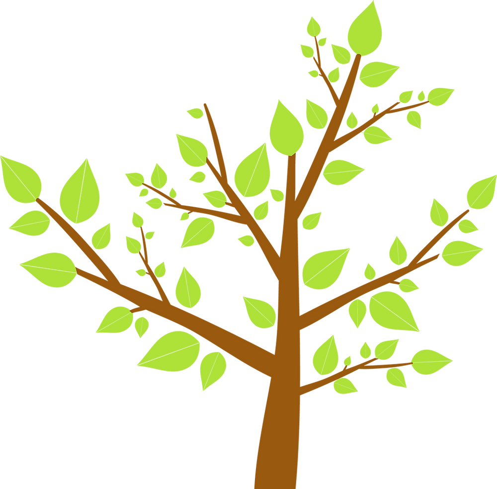 Tree, eco friendly logo