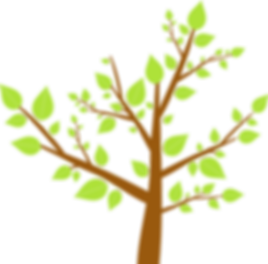 可愛い木のイラスト(大)