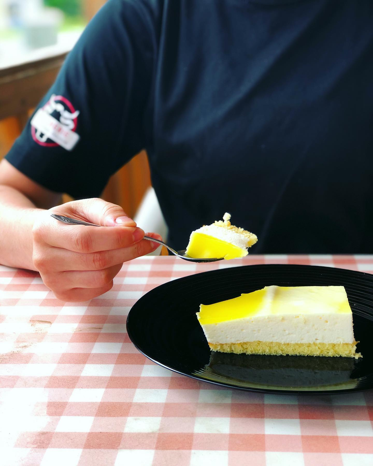 Gateau mousse au citron