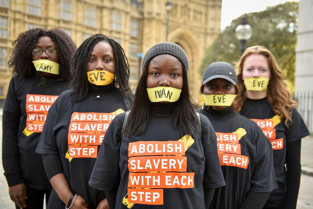 Modern day slavery is still apparent, even when producing sustainable clothing
