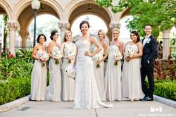 El Prado San Diego Bride