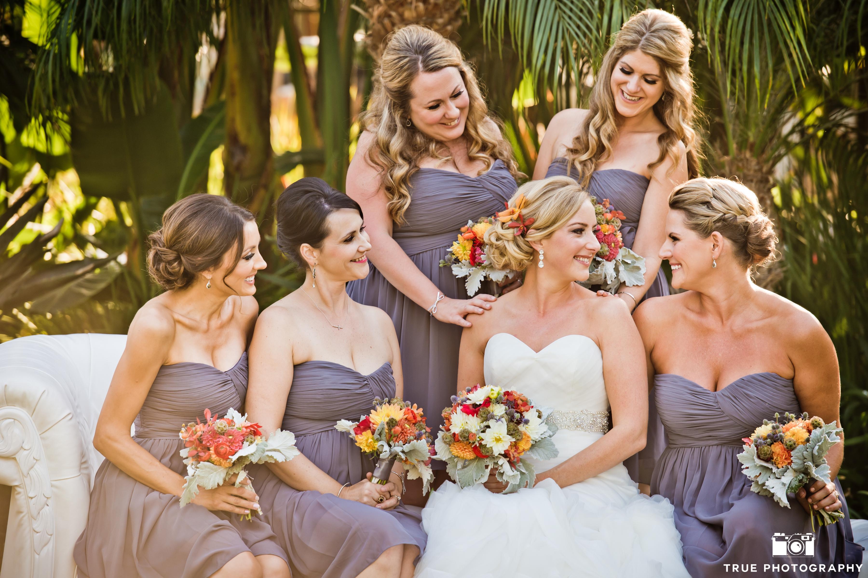 Beautiful Bridesmaid Hair