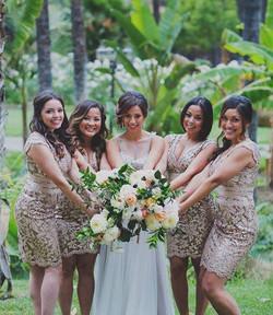 Bridesmaids Natural Updos