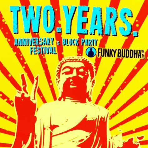 Funky Buddha Turns TWO