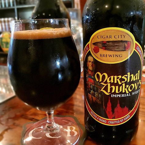 Cigar City Releases Marshal Zhukov's Imperial Stout