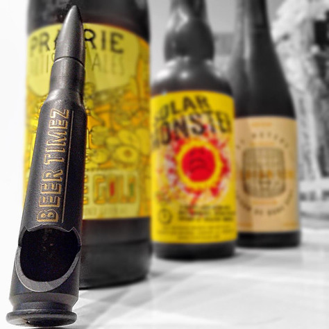 Beer Timez | .50 Caliber Bullet Bottle Opener | Bullets2Bandages