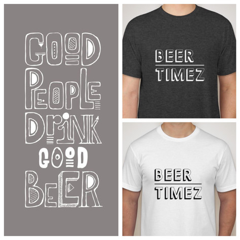 Good People Drink Good Beer & Wear Our Gear.