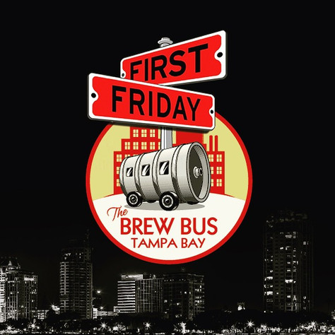 First Friday: Brew Bus Tampa 2 STP