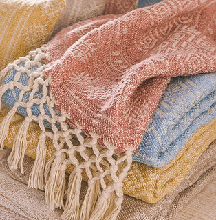 Eco-Friendly 100% Recycled Throw