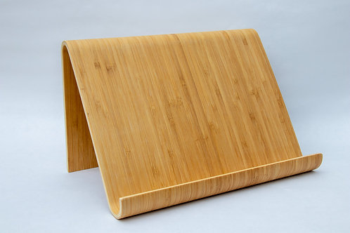 Eco Friendly Bamboo Ethical Zero-Waste Cookbook and Tablet Stand