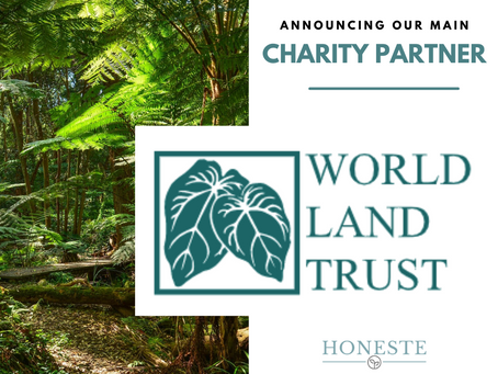 Announcing Our New Charity Partnership