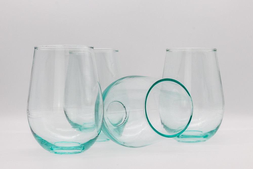 Eco-Friendly Recycled Fairtrade Glass Tumblers