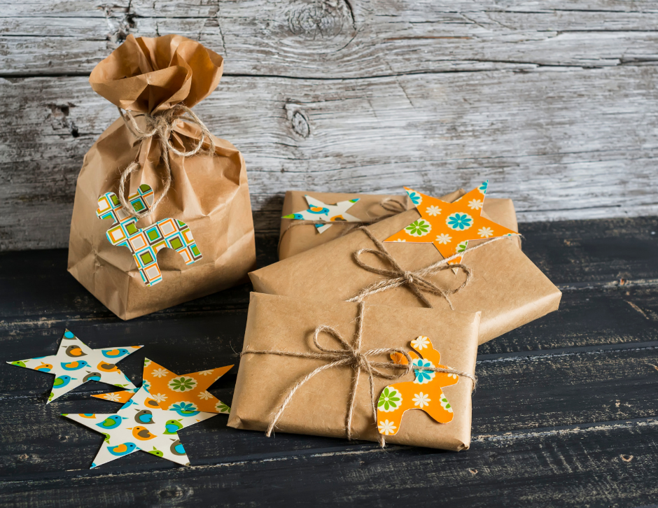 Make Gift Tags From Old Cards