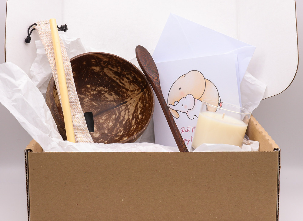 Eco-Friendly Mother's Day Gift Box - Sustainable, Plastic-Free, Organic, Reusable