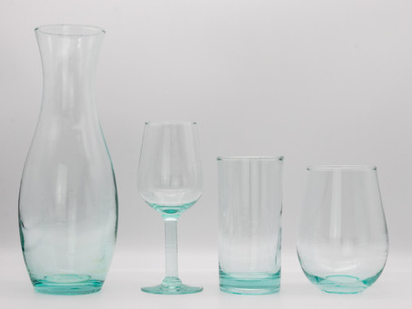 Recycled Glass Home Décor & Glasses: Our Top Choices
