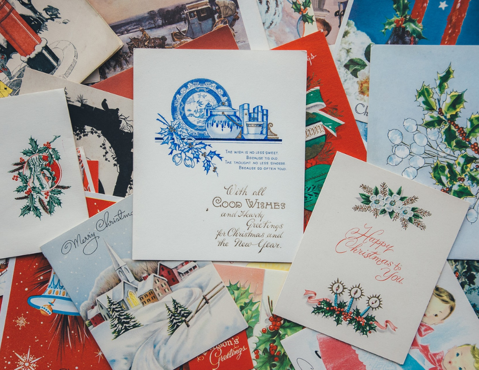 Donating Old Christmas Cards