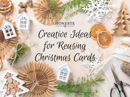 What To Do With Your Old Christmas Cards: Creative and Inexpensive Ideas to Reuse and Recycle