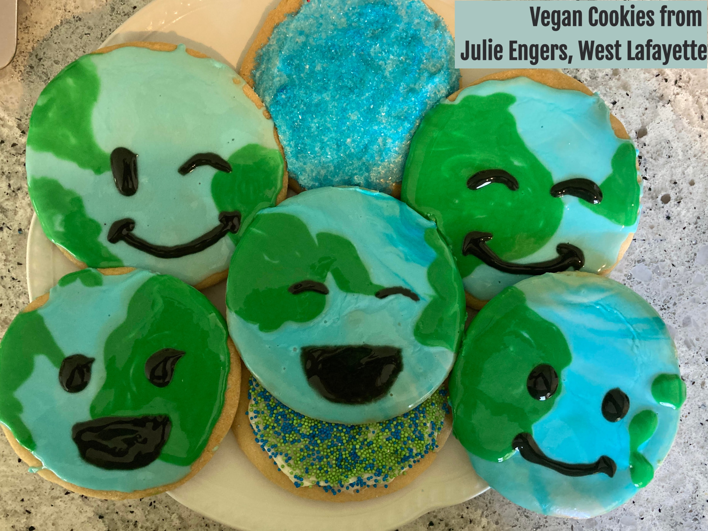 Vegan Cookies from Julie Engers, West Lafayette