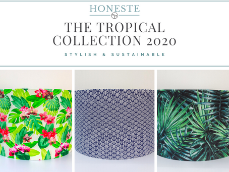 Tropical Is In: Bring Sunshine Into Your Home With These Three New Lampshades