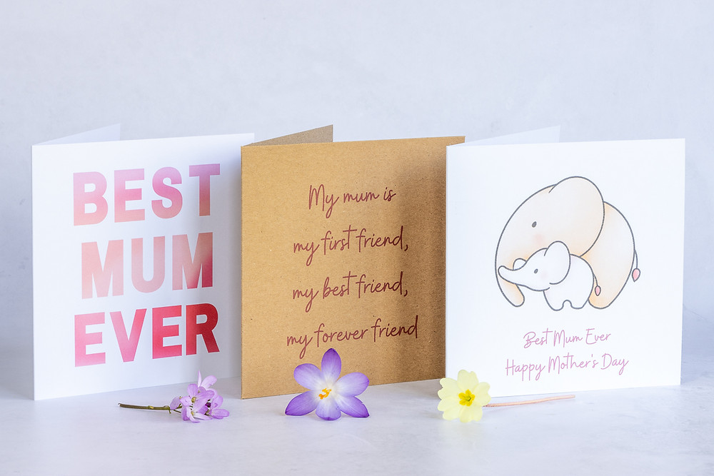 Eco-Friendly Recycled Handmade Mother's Day Cards