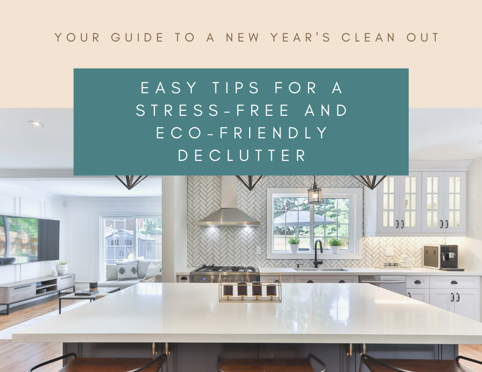 Tips for a stress-free and eco-friendly declutter