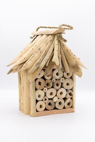 Handmade Fair Trade Driftwood Bee & Bug Hotel