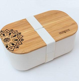 Mandala Collection Eco Bamboo Lunchbox