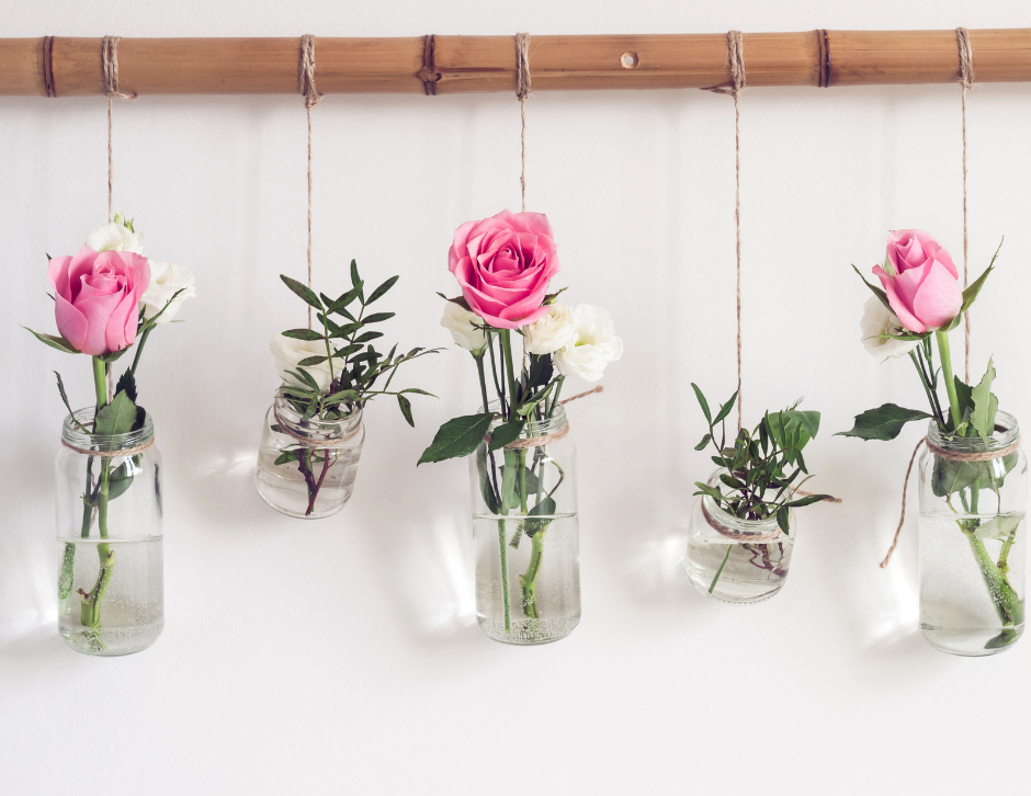 Upcycle jars into planters