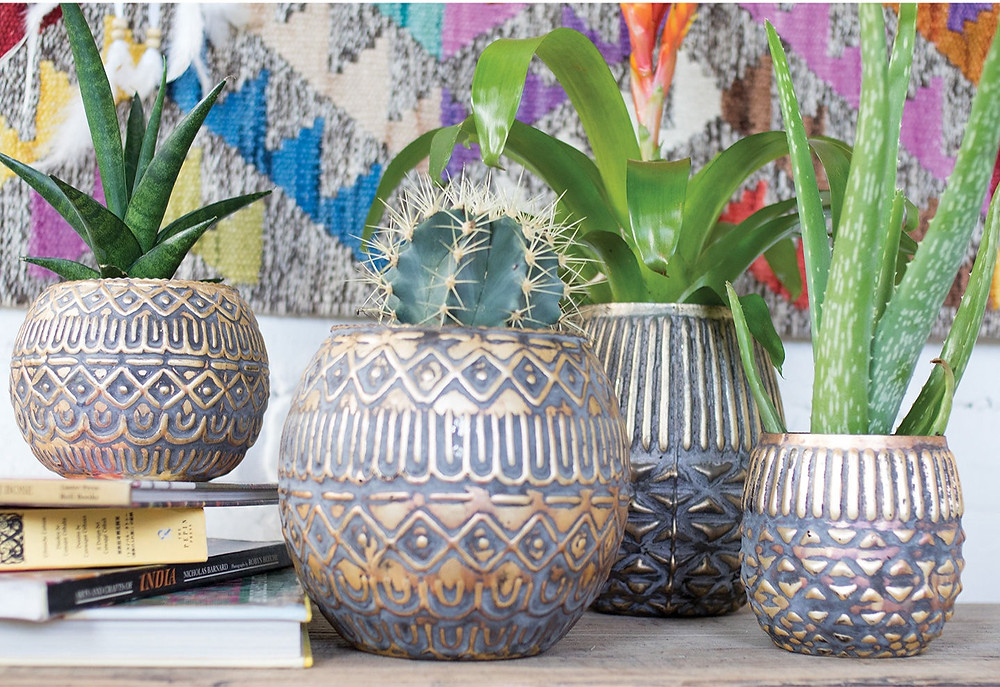Eco-friendly handmade sustainable fairtrade recycled glass vases and candle tealight holders