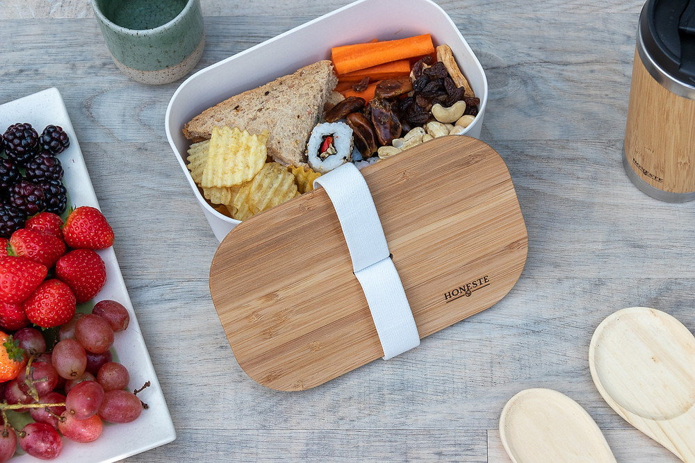 Eco-friendly natural bamboo lunchbox