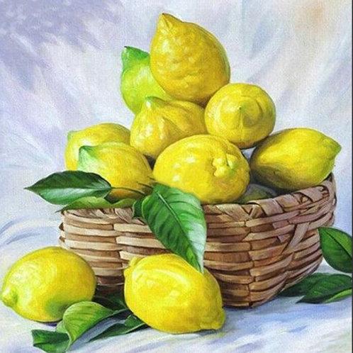 corbeille de citrons