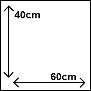 40cm x 60cm