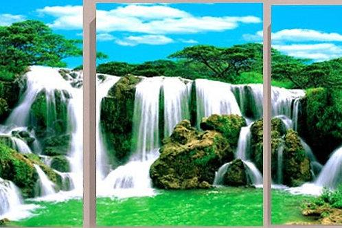 la cascades (3 panneaux)