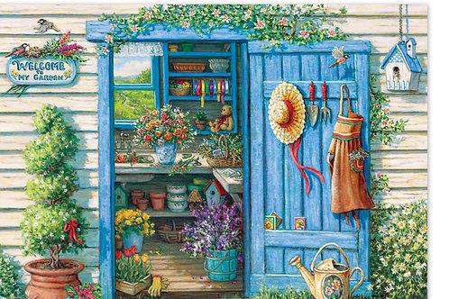 la porte de mon jardin