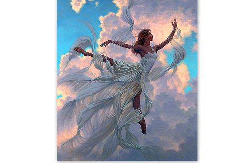 la danseuse au dessus des nuages