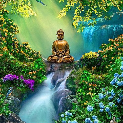 Bouddha cascade