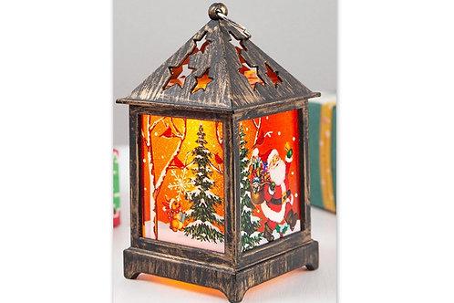 lumière décoration noël, père noël