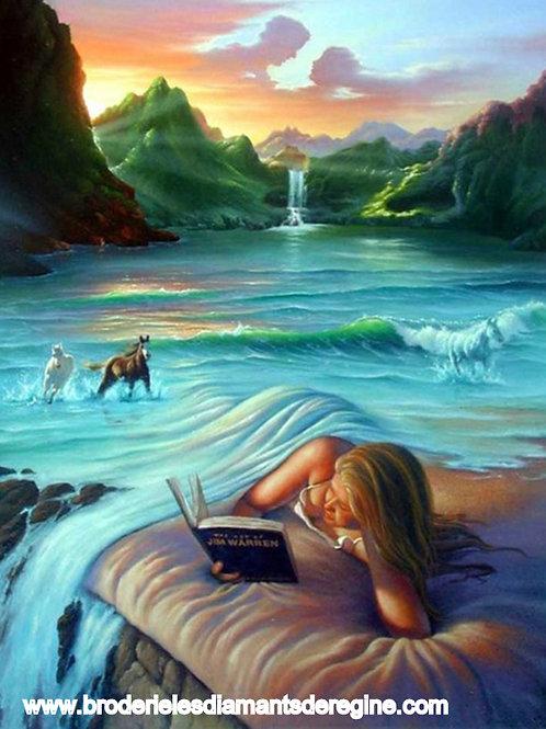 la mer en couverture