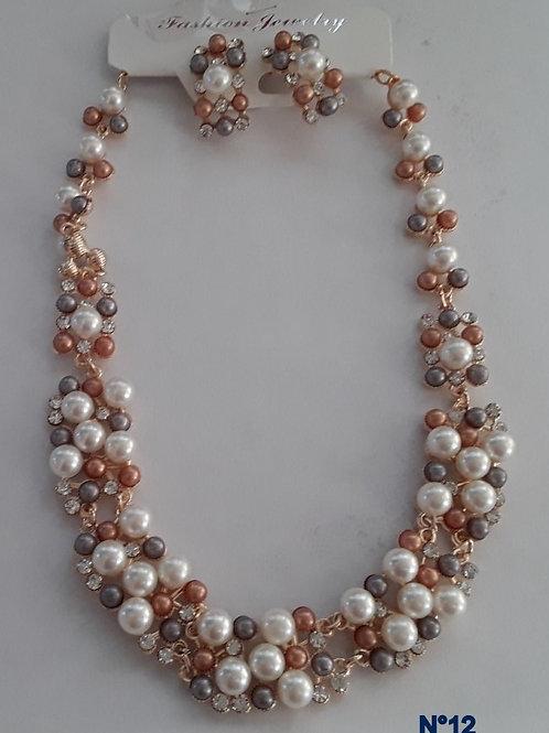 parure bijoux fantaisies N°12